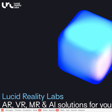 Lucid Reality Labs website