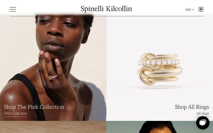 Spinelli Kilcollin website 2