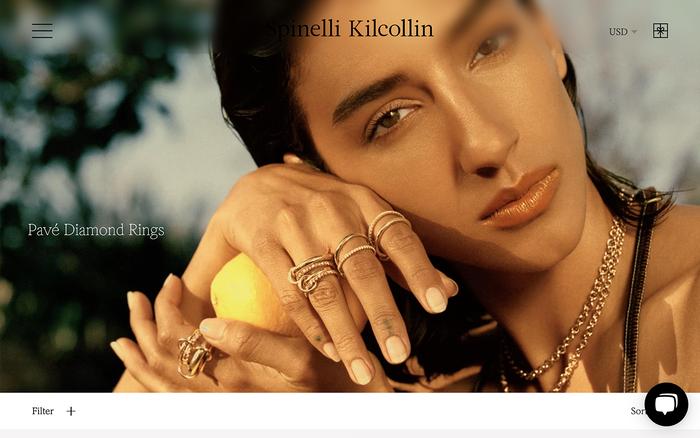 Spinelli Kilcollin website 6
