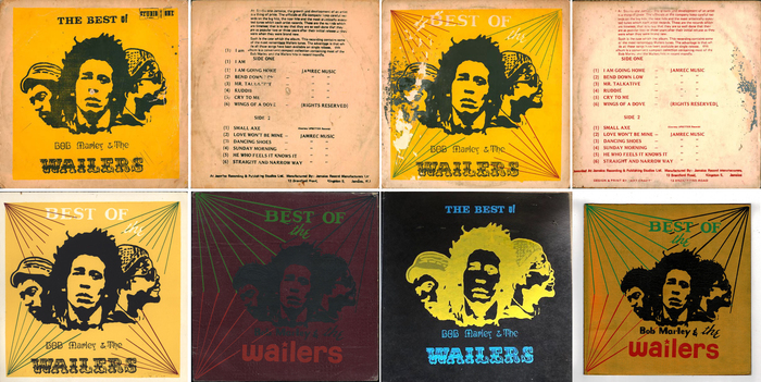 Bob Marley & The Wailers ‎– The Best Of Bob Marley & The Wailers 2