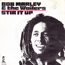 "Bob Marley & the Wailers – ""Stir It Up"" Dutch single cover"