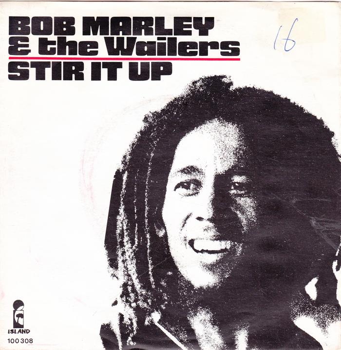 "Bob Marley & the Wailers – ""Stir It Up"" Dutch single cover"