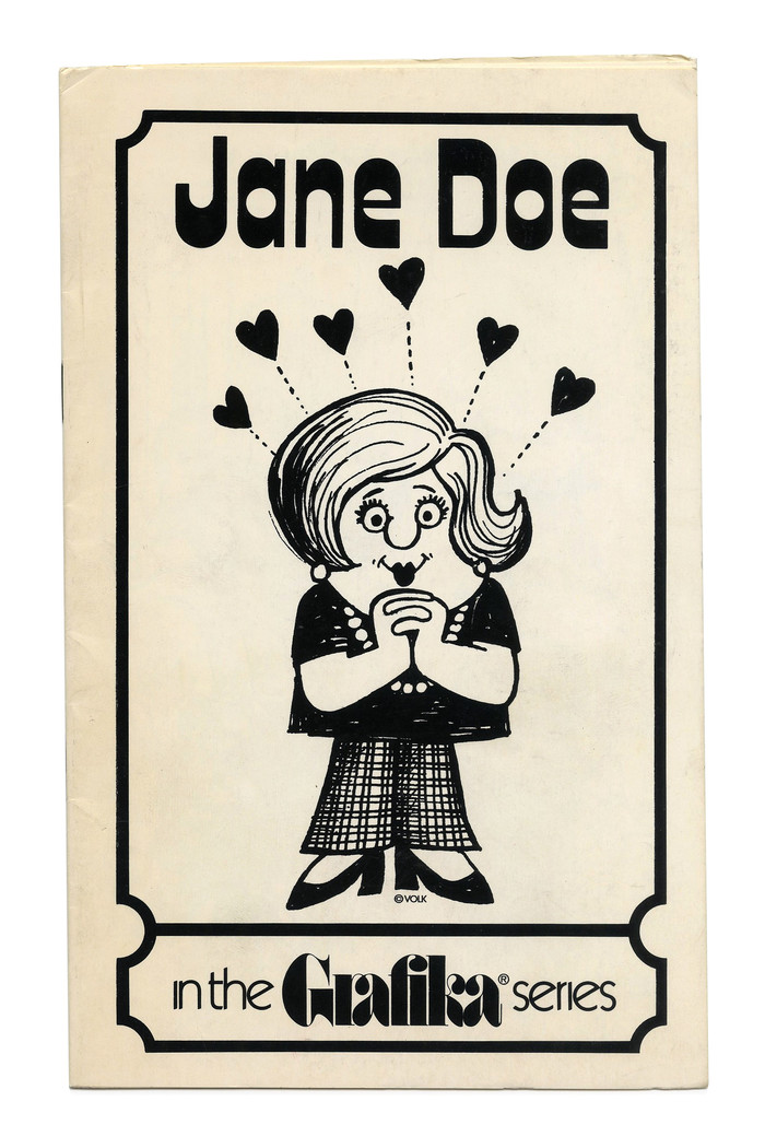 """""""Jane Doe"""" (No. G83) ft. Keyhole, which was Formatt's copy of  with added alternates."""