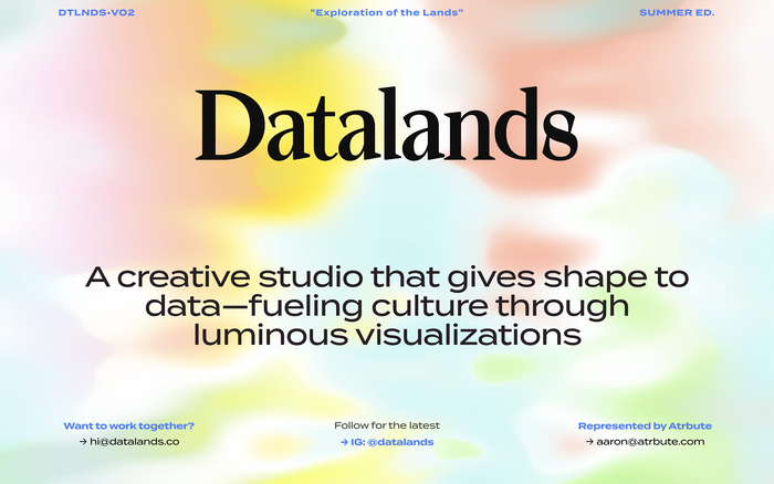 Datalands Studio website 1