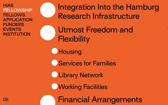 Hamburg Institute for Advanced Study (HIAS) website 3