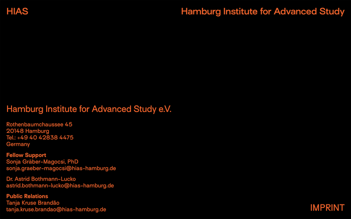 Hamburg Institute for Advanced Study (HIAS) website 5