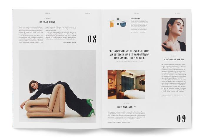 Sabato magazine redesign 2