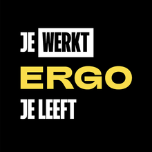 """Ergo je leeft"" campaign website"