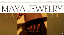 Maya Jewelry website