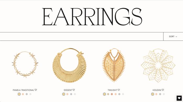 Maya Jewelry website 3