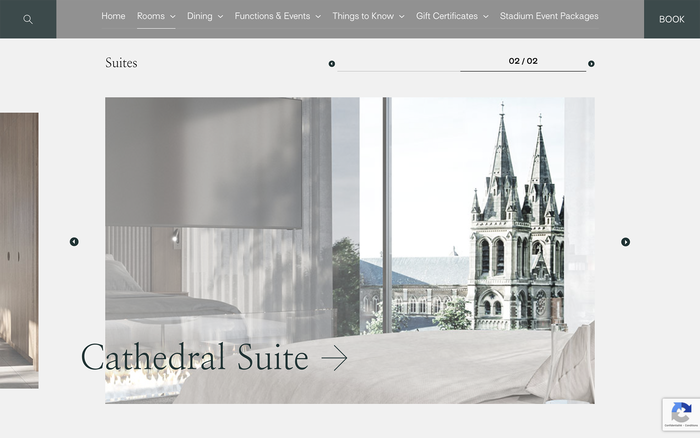 Oval Hotel website 3