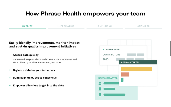 Phrase Health website 4