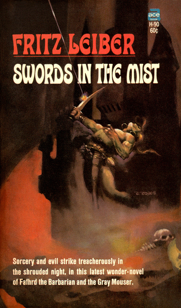 Swords in the Mist (#3), Ace H-90, 1968.