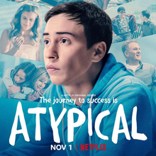 <cite>Atypical</cite> TV series promo material and credits
