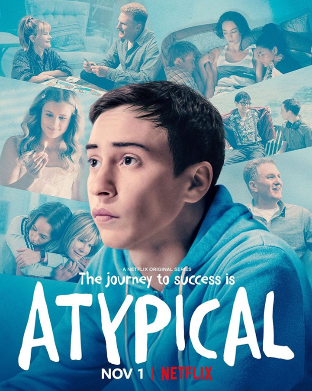 Atypical TV series promo material and credits 1
