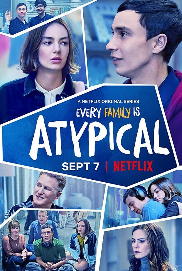 Atypical TV series promo material and credits 2