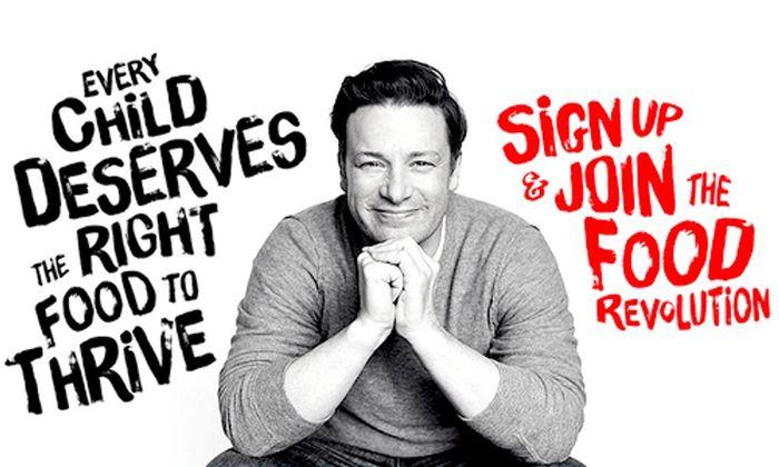 Jamie Oliver's Food Revolution campaign 1