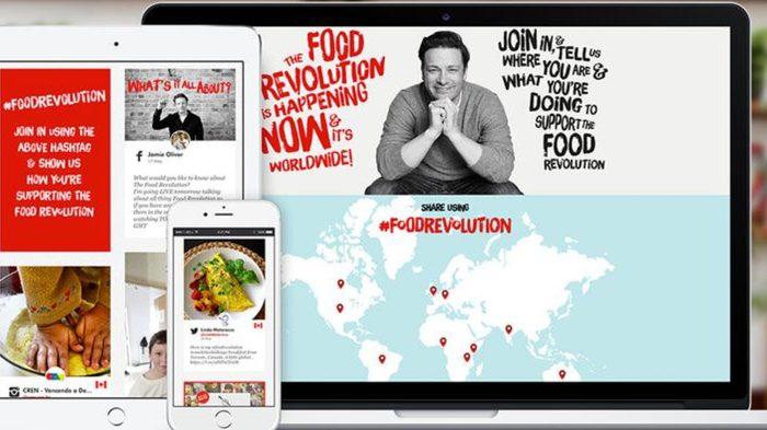 Jamie Oliver's Food Revolution campaign 5