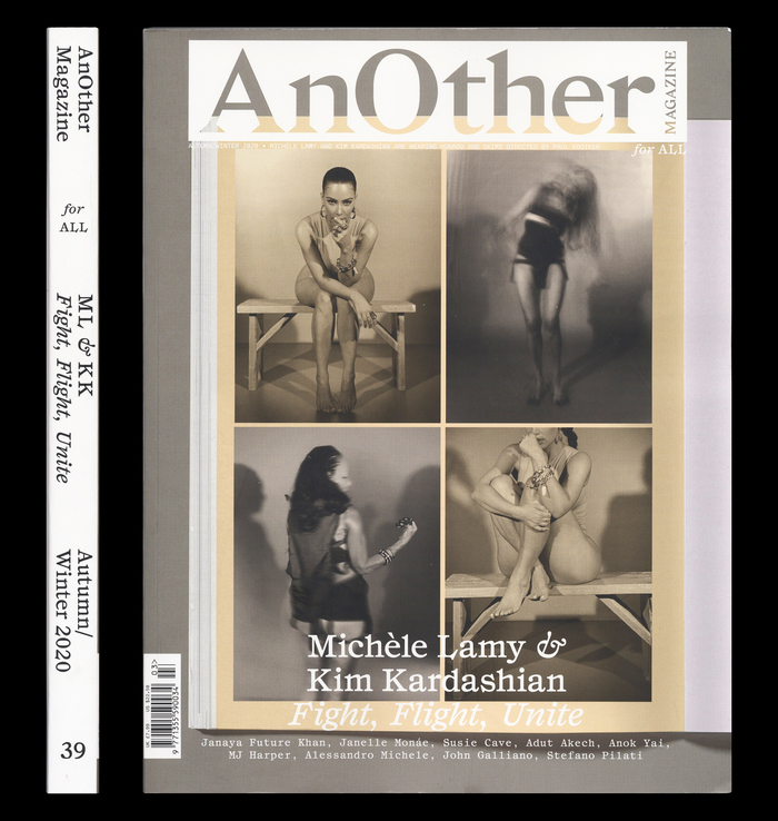 """AnOther Magazine for All, Autumn/Winter 2020 """"Fight, Flight, Unite"""" 1"""