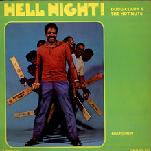 Doug Clark &amp; the Hot Nuts – <cite>Hell Night!</cite> album art