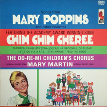 The Do-Re-Mi Children's Chorus – <cite>Songs from Mary Poppins and Other Favorites</cite> album art