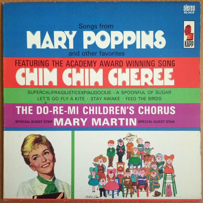 The Do-Re-Mi Children's Chorus – Songs from Mary Poppins and Other Favorites album art 1