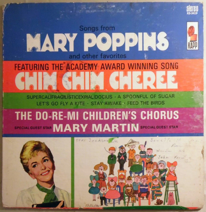 The Do-Re-Mi Children's Chorus – Songs from Mary Poppins and Other Favorites album art 2