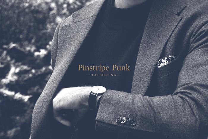 Pinstripe Punk Tailoring 1