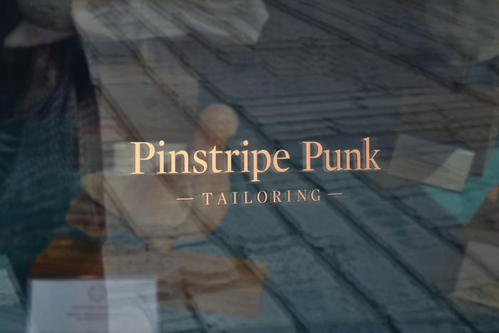 Pinstripe Punk Tailoring 5