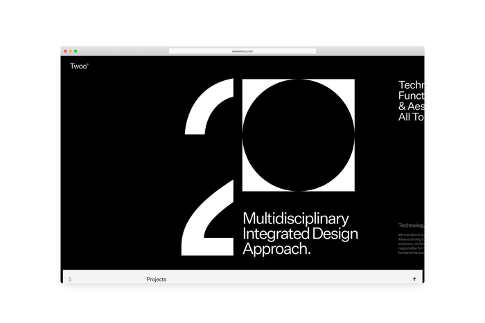 Twoo® portfolio website 3