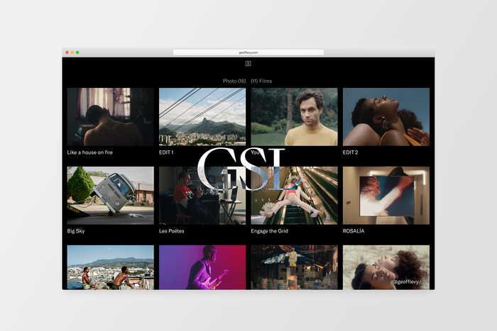 Geoff Sean Levy portfolio website 6