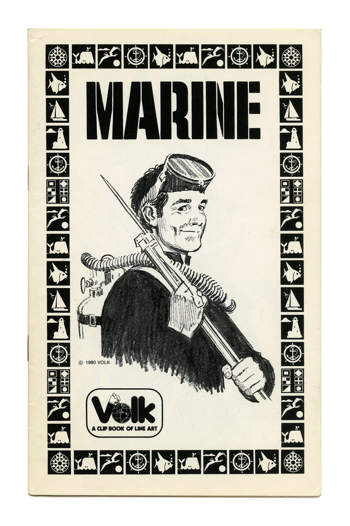 """Marine"" (No. 749) ft. . Illustration by Tom Sawyer."