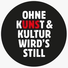 """Ohne Kunst <span></span>&amp; Kultur wird's still"" viral campaign"