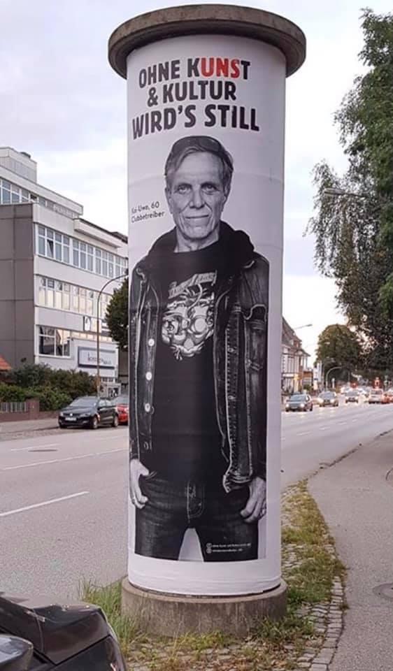 """""""Ohne Kunst & Kultur wird's still"""" viral campaign 10"""