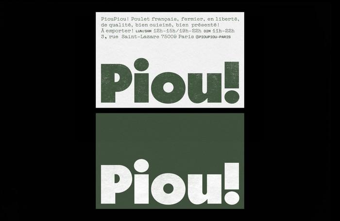 Piou Piou 1