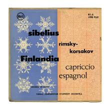 Sibelius: <cite>Finlandia</cite> / Rimsky-Korsakov: <cite>Capriccio Espagnol</cite> album art
