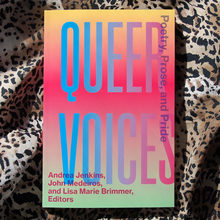 <cite>Queer Voices – <span>Poetry, Prose, and Pride</span></cite>