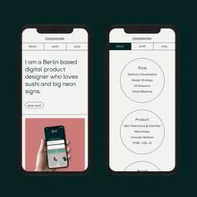 Cassandra Tang portfolio website