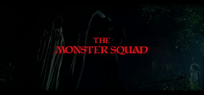 The Monster Squad film titles 1