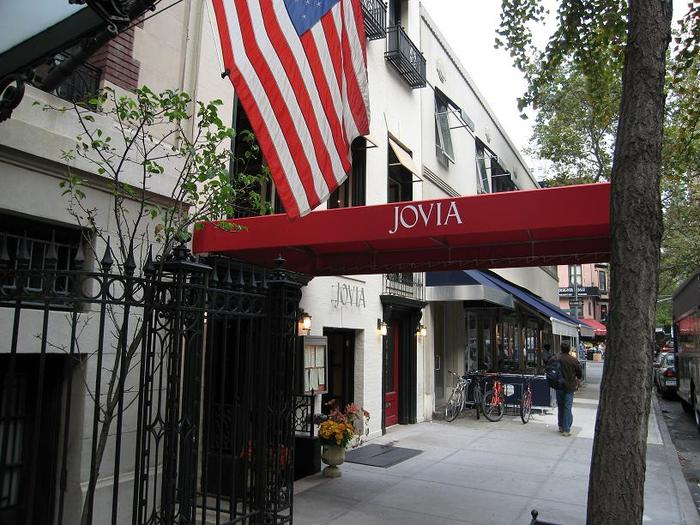 Jovia restaurant, New York City 2