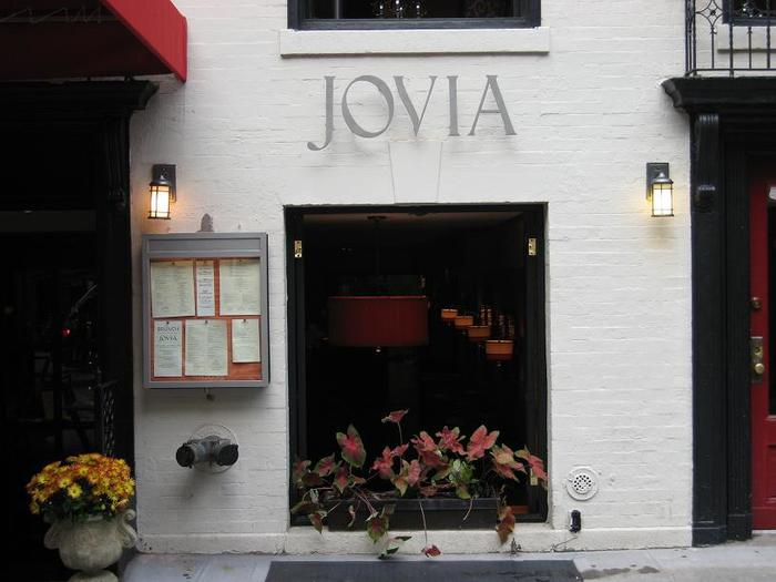 Jovia restaurant, New York City 1