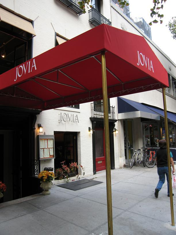 Jovia restaurant, New York City 3