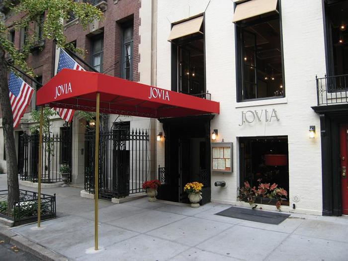 Jovia restaurant, New York City 4