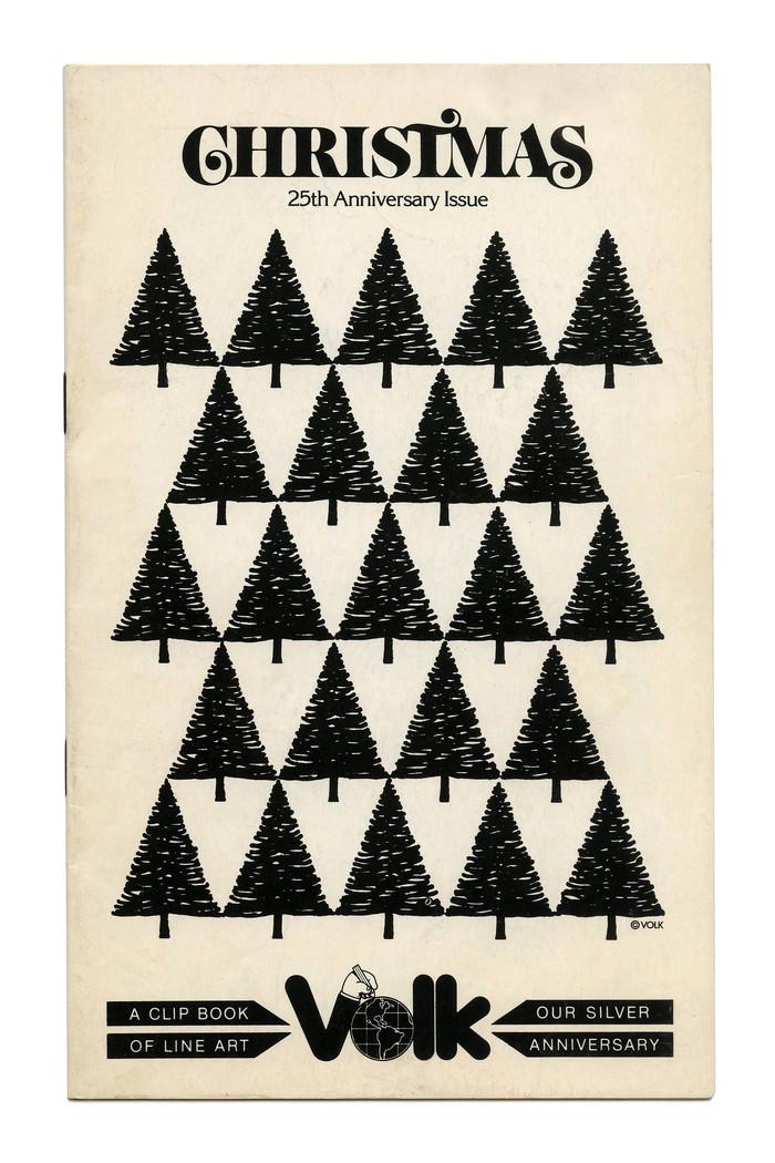 """Christmas"" (No. 688) ft.  caps with swash alternates."