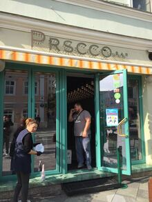 Prscco bar, Moscow