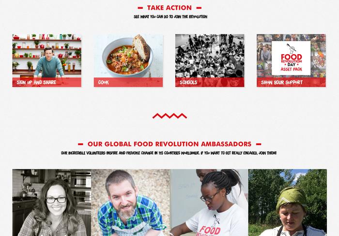 Jamie Oliver's Food Revolution campaign 3