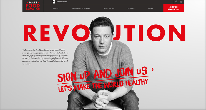 Jamie Oliver's Food Revolution campaign 2