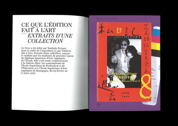 Ce que l'édition fait à l'art – Extraits d'une collection 3