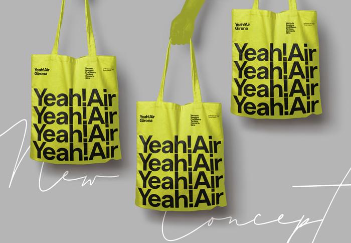 Yeah! Air visual identity 4