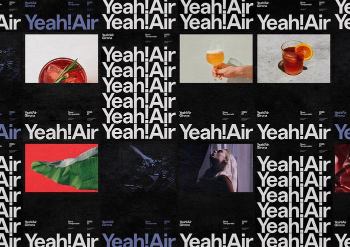Yeah! Air visual identity 6